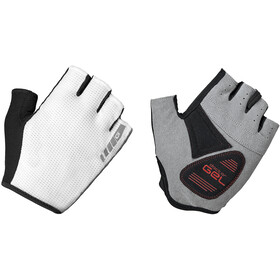 GripGrab EasyRider Padded Short Finger Gloves white